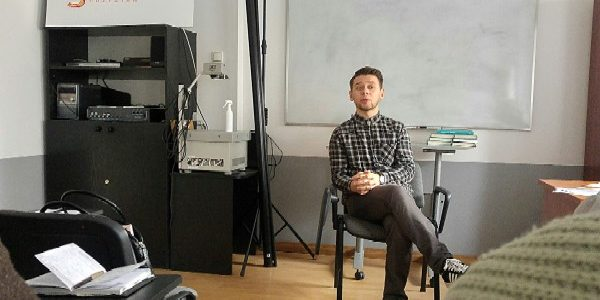 Spotkanie z Bartoszem Bandurą
