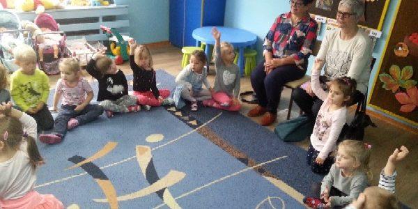 Wizyty plastyków w przedszkolach