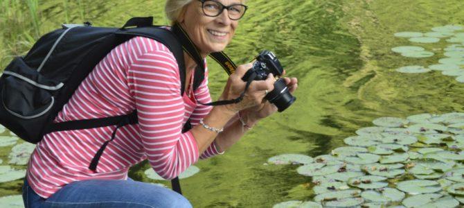 Fotograficy nad jeziorem Lipie