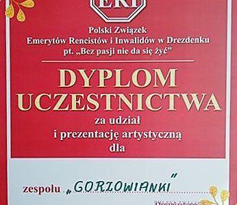 """""""Gorzowianki'"""" na pierwszym miejscu"""